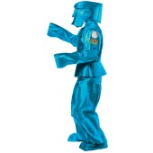 Rock'em Sock'em Robots - Blue Bomber Adult Costume