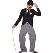 20's Film Star: Charlie Chaplin Adult Costume