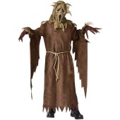 Ghost Face Scarecrow Child Costume