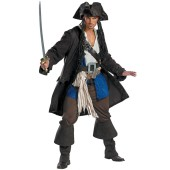 Pirates of the Caribbean - Captain Jack Sparrow Prestige Teen Costume