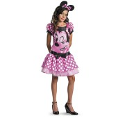 Mickey Mouse Clubhouse - Pink Minnie Mouse Tween Costume