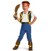 Disney Jake and the Never Land Pirates Deluxe Jake Toddler Costume