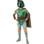 Star Wars Deluxe Light-Up Boba Fett Child Costume