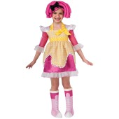 Lalaloopsy Deluxe Crumbs Sugar Cookie Child Costume