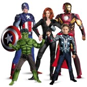 The Avengers Group Costumes