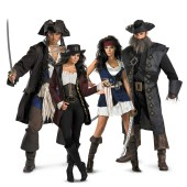 The Pirates of the Caribbean Group Costumes