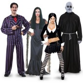 The Addams Family Group Costumes