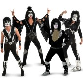 Kiss Army Group Costumes