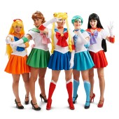 Sailor Moon Group Costumes