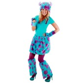 Monsters University Sulley Adult Deluxe Kit