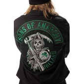 Sons Of Anarchy Green Ireland Mechanic Jacket Plus