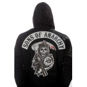 Sons Of Anarchy Mens Highway Jacket Plus