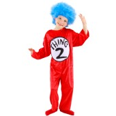 Dr. Seuss - Thing 1 and 2 Child Costume