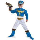 Blue Power Ranger Megaforce Muscle Chest Toddler / Child Costume