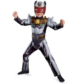 Robo Knight Power Ranger Megaforce Muscle Chest Toddler / Child Costume