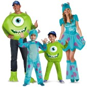 Monster's University Group Costumes