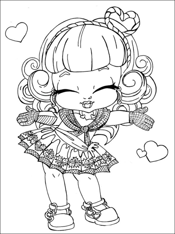 Monster High Coloring Pages 2019