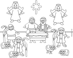 kids coloring pages color pages color pages 2 cute coloring pages cute coloring pages 2 cool coloring pages printable coloring pages - Nativity Coloring Pages Printable