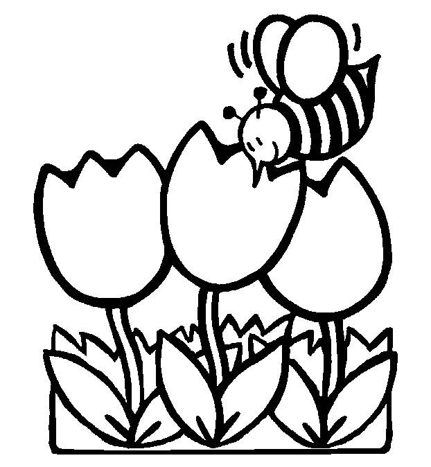 spring kindergarten coloring pages - photo#31
