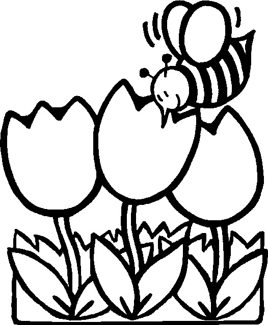 Spring Coloring Pages 2017- Dr. Odd
