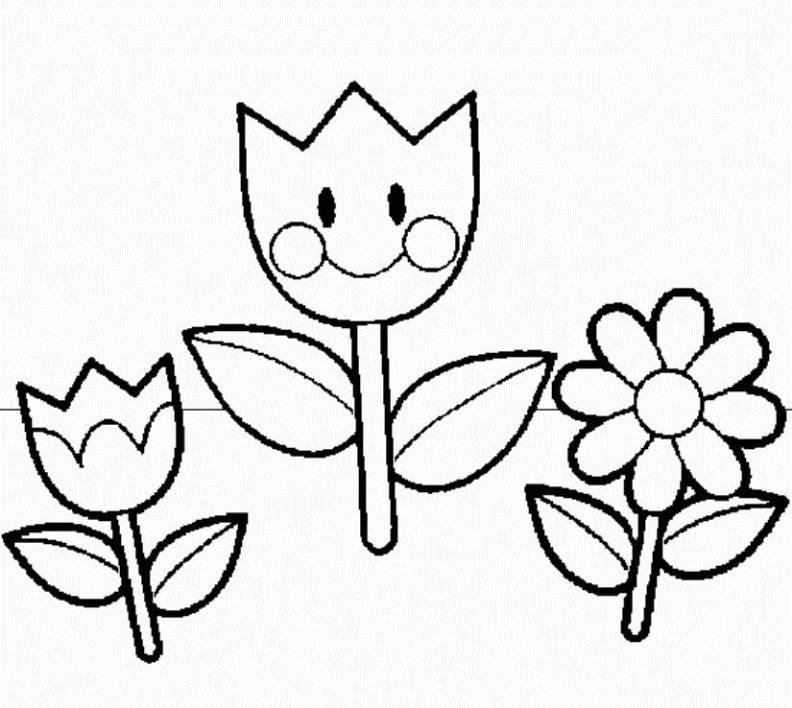 Spring coloring pages 2018 dr odd for Summer pictures for kids to colour