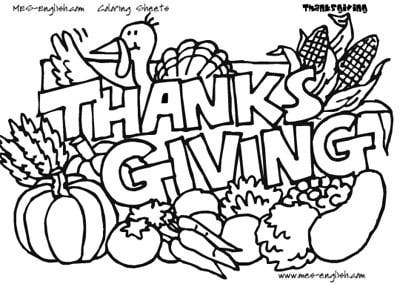 thanksgiving coloring pages - dr. odd - Thanksgiving Coloring Worksheets