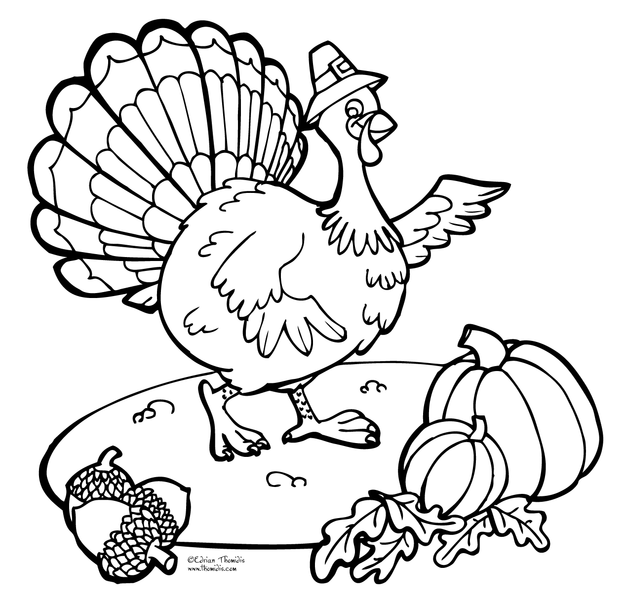 tanksgiving coloring pages - photo#11