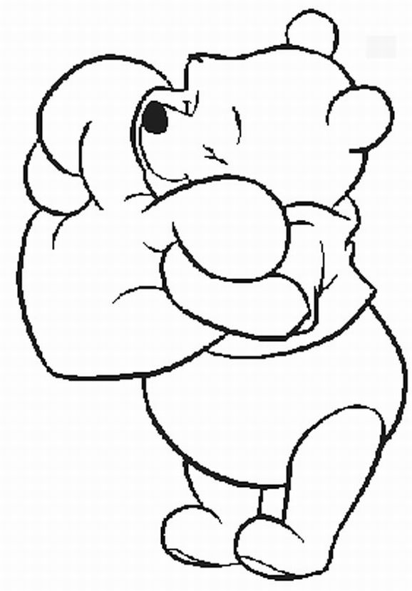 St Patricks Day Coloring Pages Winnie The Pooh - Worksheet ...