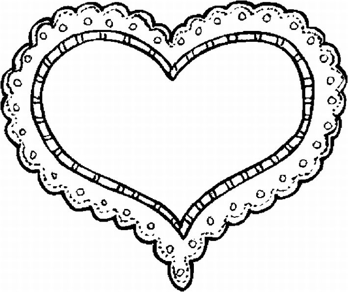 valentines day cards coloring pages - photo#32