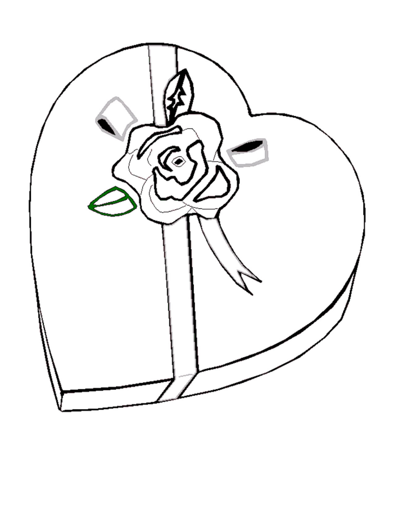 Valentine Coloring Pages 2018- Dr. Odd